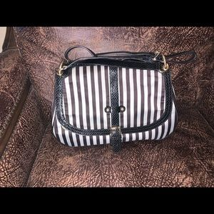 EUC Henri Bendel Saddlebag/Messenger Bag